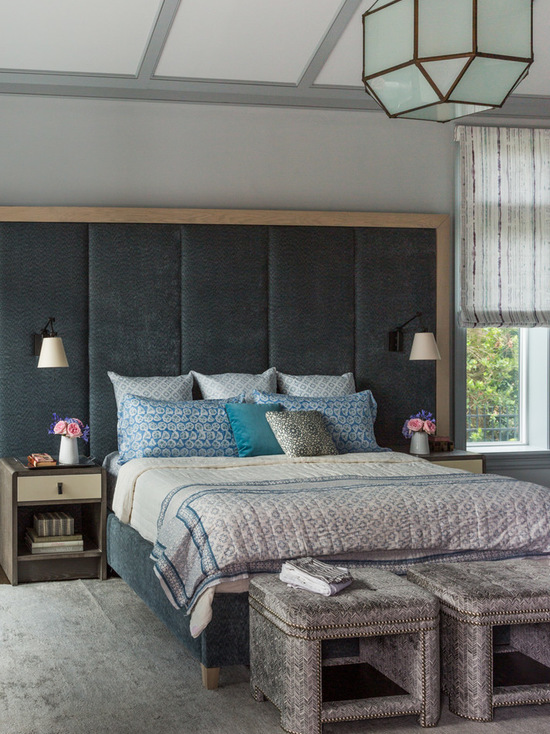 Ideas For A Headboard Part - 39: 20 Gorgeous Master Bedroom Headboard Ideas