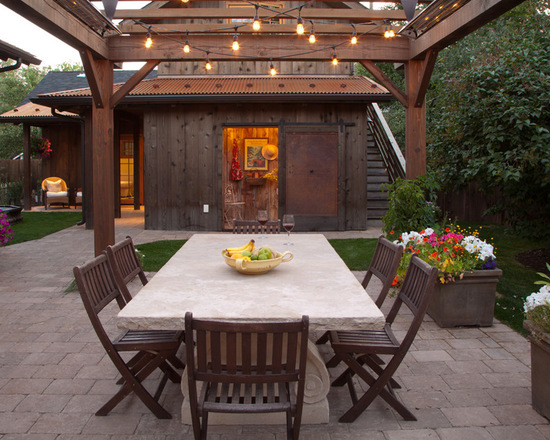 17 Outstanding Outdoor Dining Room Design Ideas (Part 2)