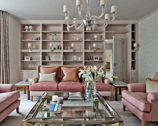 Mix of Grey and Pink for Chic Living Room Decor (Part 2)