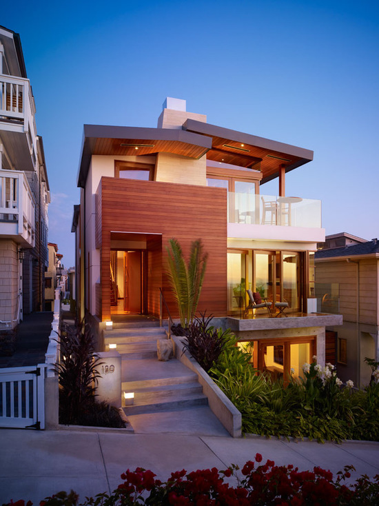 16 Stunning Contemporary Ocean House Exterior Design Ideas