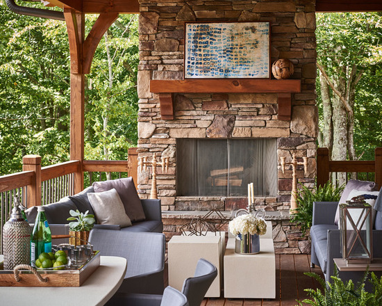 18 Awesome Rustic Decks That Offer a Perfect Escape