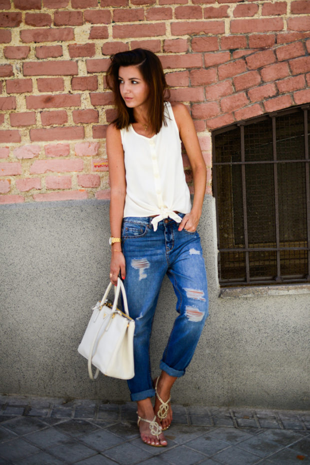 16 Stylish Ways to Dress Up your Favorite Basic Tee This Summer (Part 1)