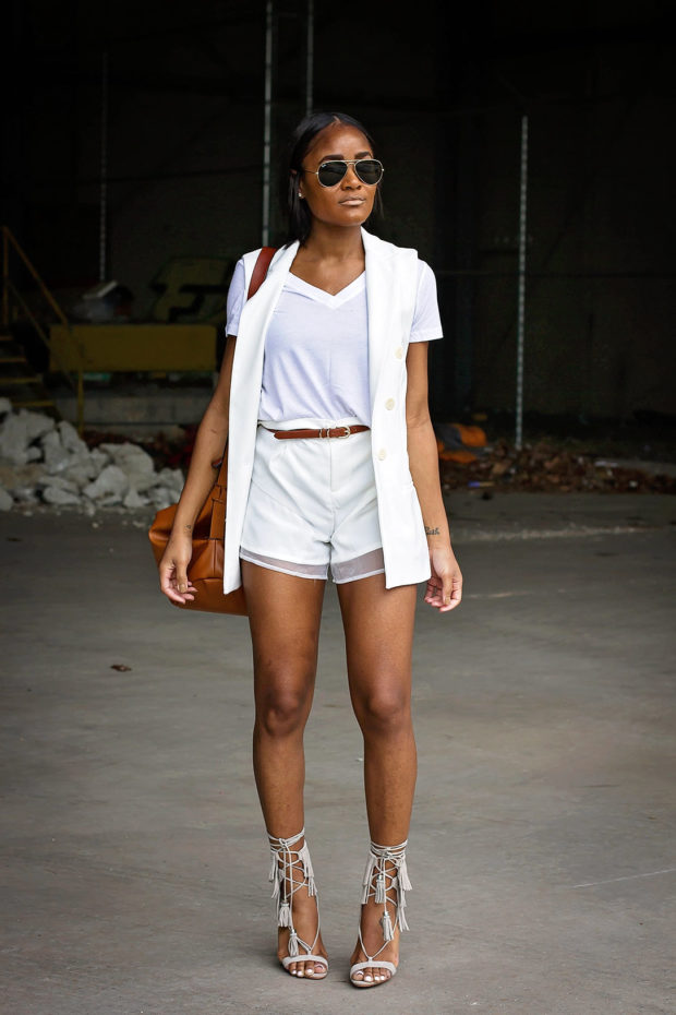 16 Stylish Ways to Dress Up your Favorite Basic Tee This Summer (Part 3)