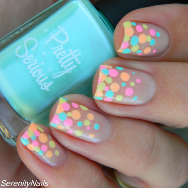 Cute Dots Nail Art Ideas for Summer