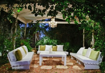 4 Killer Garden Designs to Inspire You - solitude, outdoor lights, nature, lights, garden designs