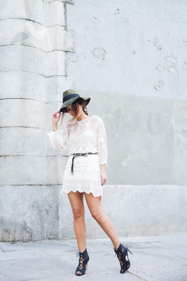 Lace for Romantic and Chic Summer Look: 17 Lovely Outfit Ideas (Part 2)