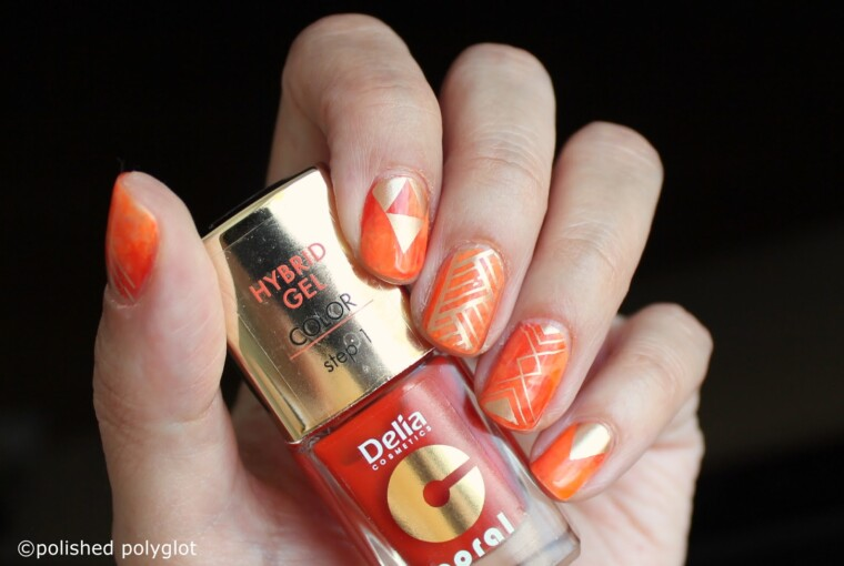 15 Cute Orange Nail Art Ideas to Try for the Last Days of Summer - summer to fall, summer nail art, orange nail art, orange, nail art ideas, Last Days of Summer