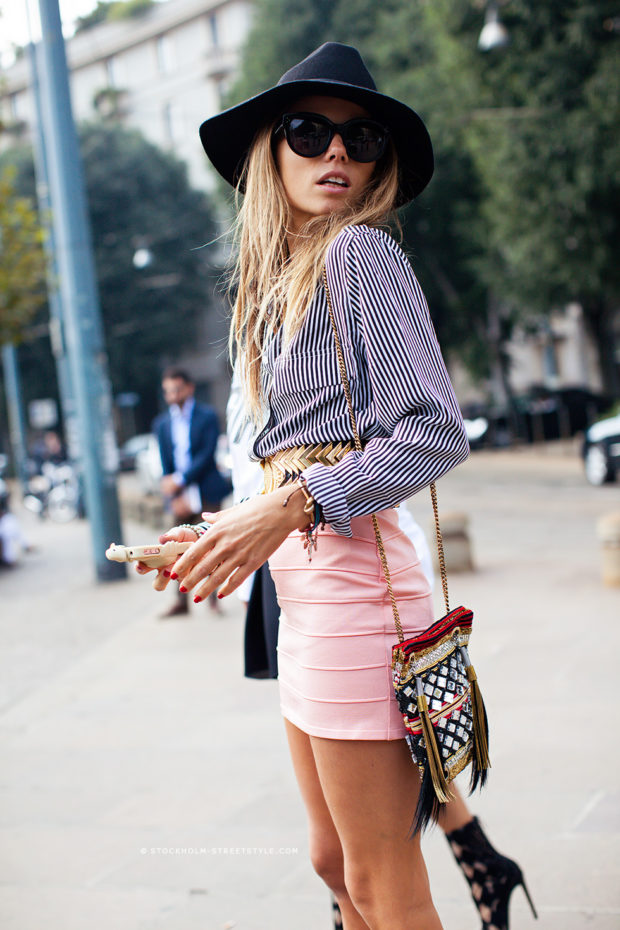 17 Chic Ways To Style A Striped Shirt