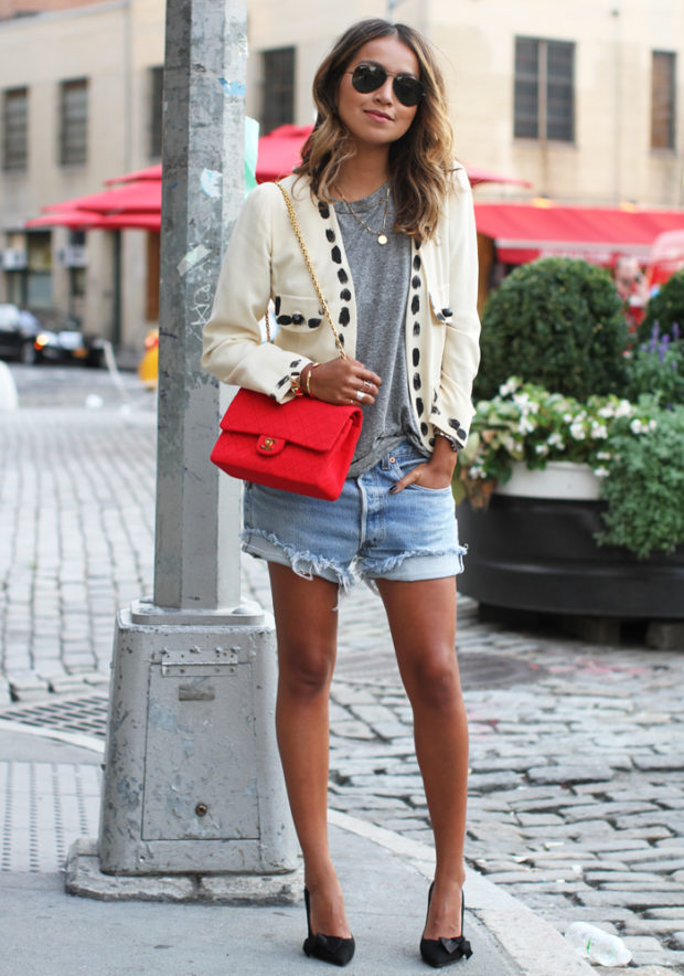 20 Chic Street Style Outfits for the Last Days of Summer