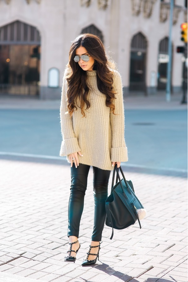 Oversized | Cute Outfits For Winter The Ultimate Guide For Holiday Party Looks