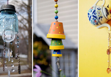 10 Cheap and Easy DIY Wind Chime Ideas That Will Refresh Your Patio - wind chime, wind, patio, handmade, Feng Shui, DIY Wind Chime, diy, decorations, crafts, craft, chime