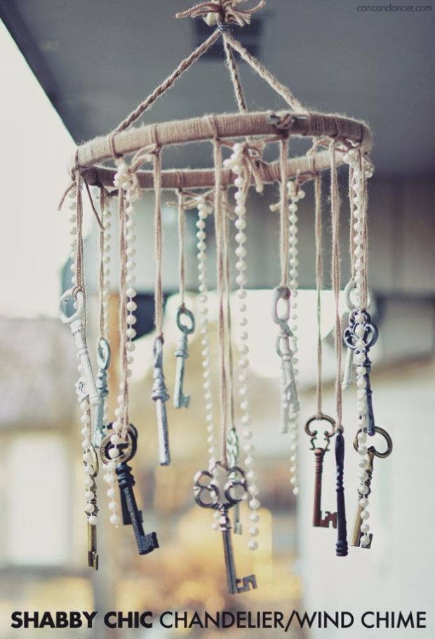 10 cheap and easy diy wind chime ideas that will refresh for Easy to make wind chimes