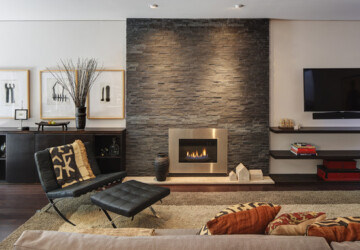 18 Stunning Design Ideas for Fireplace Wall - living room fireplaces, Fireplaces Design Ideas, Fireplace Wall, fireplace design, bedroom fireplace