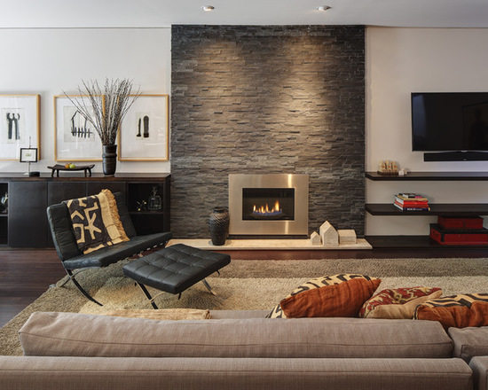 18 Stunning Design Ideas For Fireplace Wall