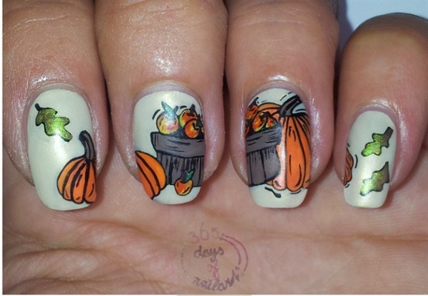 15 Cute Fall Inspired Nail Art Ideas