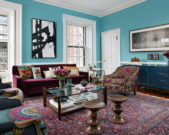 18 Great Ideas for How To Pull Off An Eclectic Look In A Living Room