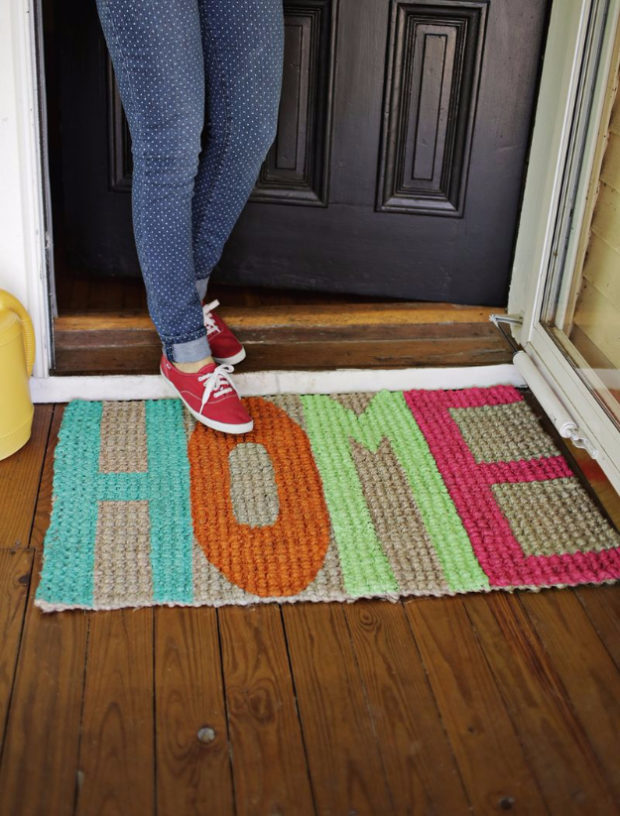 14-inviting-diy-welcome-mat-ideas-you-could-easily-craft-5