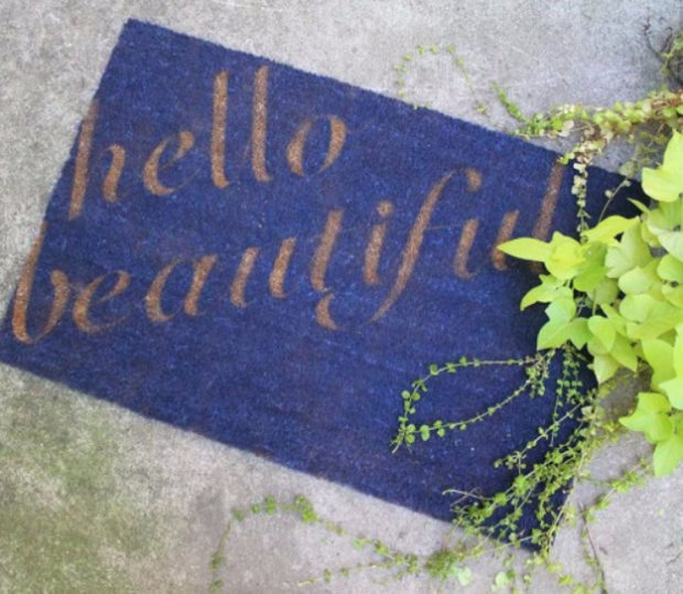 14-inviting-diy-welcome-mat-ideas-you-could-easily-craft-9