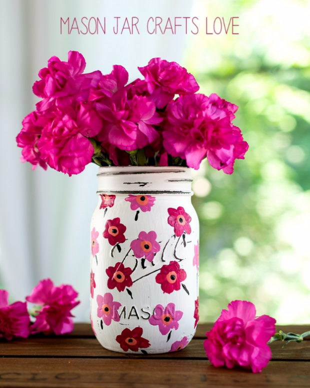 15 Impressive Diy Mason Jar Vase Ideas Youre Going To Fall In Love