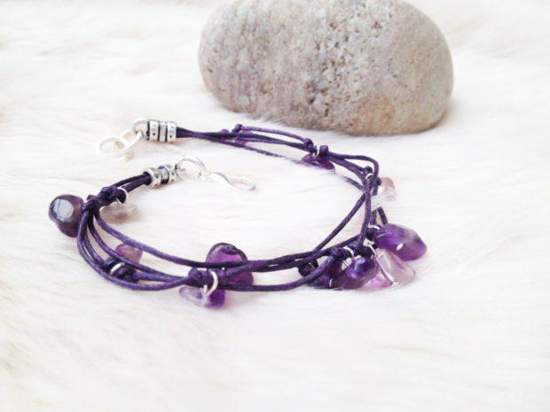 15 Irresistible Handmade Amethyst Jewelry Designs You'll Fall In Love With (13)