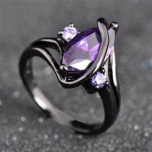 15 Irresistible Handmade Amethyst Jewelry Designs You'll Fall In Love With (15)