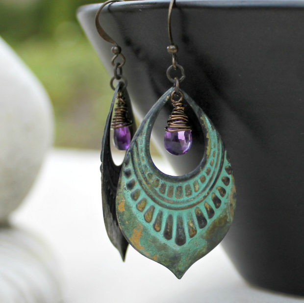 15 Irresistible Handmade Amethyst Jewelry Designs You'll Fall In Love With (9)