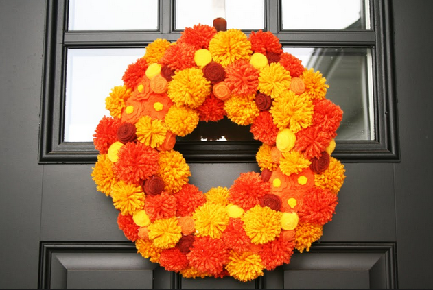 17 Diy Fall Wreaths To Dress Up Your Front Door Style Motivation