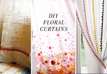 16 Cool, Easy and Cheap DIY Ideas To Dress Up Your Windows - windows, Window, trim, shades, ideas, handmade, Easy, DIY ideas, diy, curtains, crafts, craft, blinds