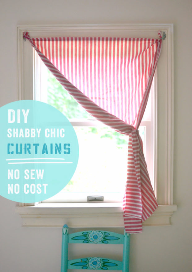 16 Cool Easy And Cheap Diy Ideas To Dress Up Your Windows