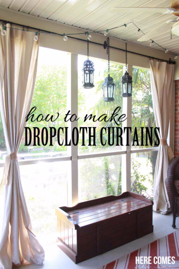 16 Cool, Easy and Cheap DIY Ideas To Dress Up Your Windows (14)