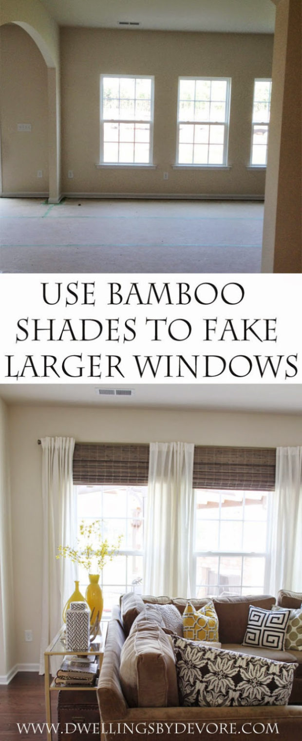 16 Cool, Easy and Cheap DIY Ideas To Dress Up Your Windows (16)