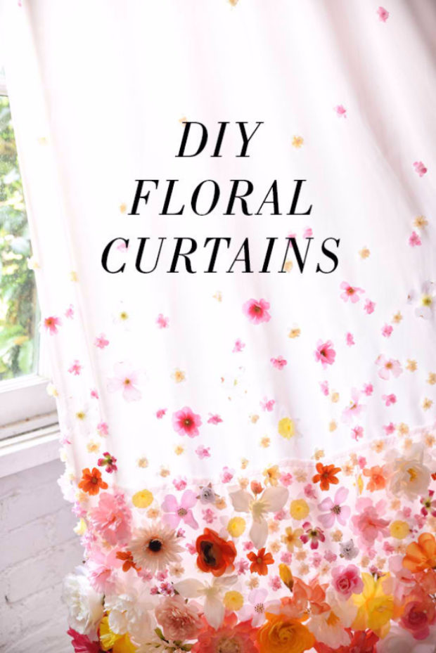 16 Cool, Easy and Cheap DIY Ideas To Dress Up Your Windows (3)