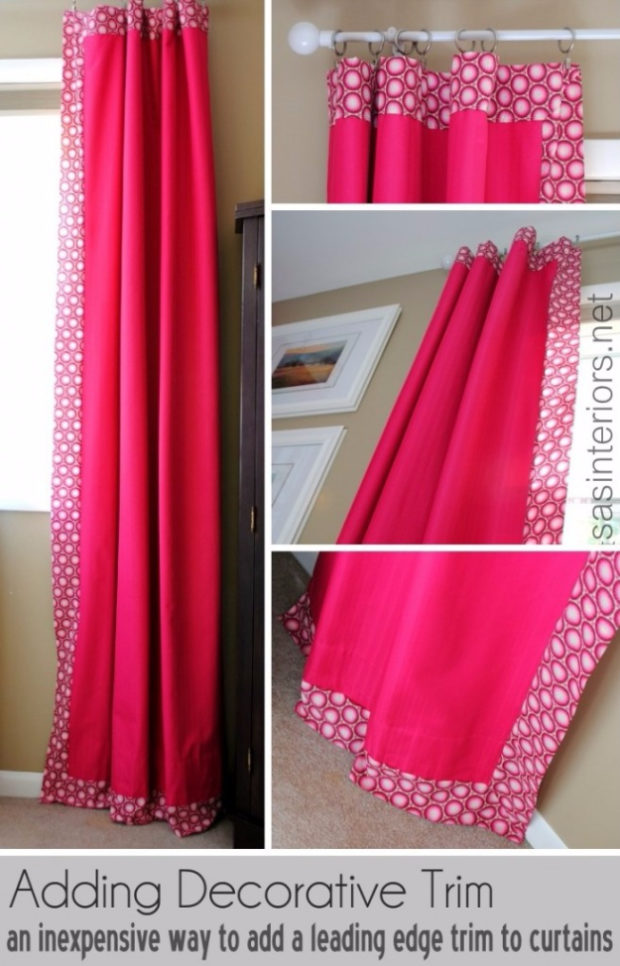 16 Cool, Easy and Cheap DIY Ideas To Dress Up Your Windows (7)