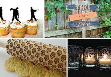 16 Scary And Creative Handmade Halloween Decorations For Your Halloween Party - witch, web, spooky, spider, skull, sign, scary, Pumpkin, ornament, lantern, horror, holiday, handmade, Halloween decorations, halloween, decorations, decor, dead, candle, banner