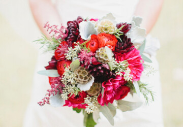 18 Gorgeous Wedding Bouquets in Vibrant Fall Colors - Wedding Bouquets, fall wedding theme, fall wedding flowers, fall wedding Bouquets, fall wedding, Bridal Bouquets
