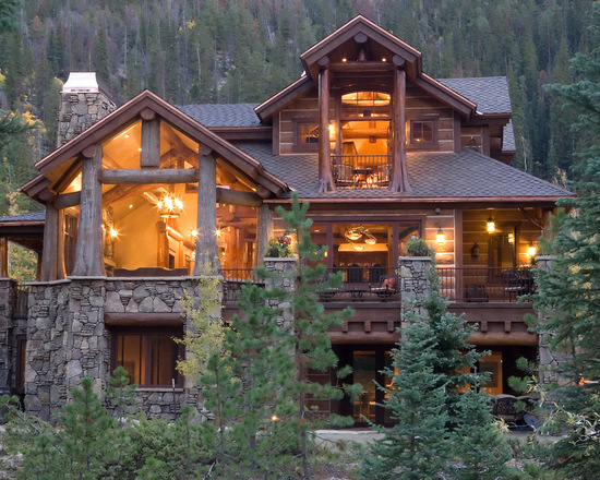 18 Warm and Cozy Chalet Style Exterior Design Ideas