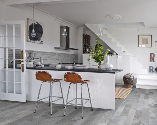 15 stunning grey kitchen floor design ideas - Kitchen Floor Design Ideas