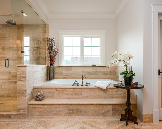 18 Gorgeous Step Up Bathroom Design Ideas