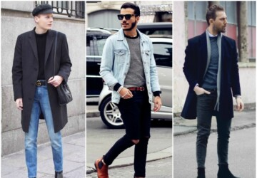 Men's Fashion Trends To Try This Autumn - subtle suits, sleek trousers, shearling jackets, chelsea boots, casual