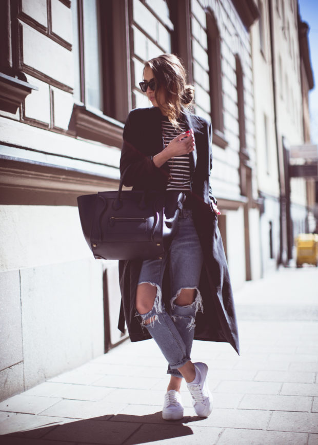 18 Fall Comfortable and Chic Outfits with Sneakers (Part 1)