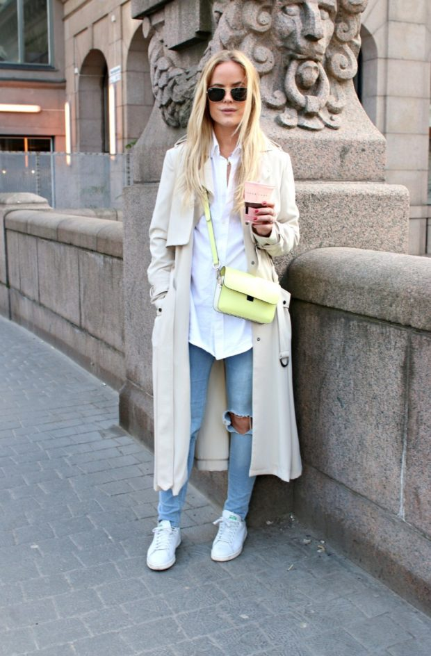 18 Fall Comfortable and Chic Outfits with Sneakers (Part 2)