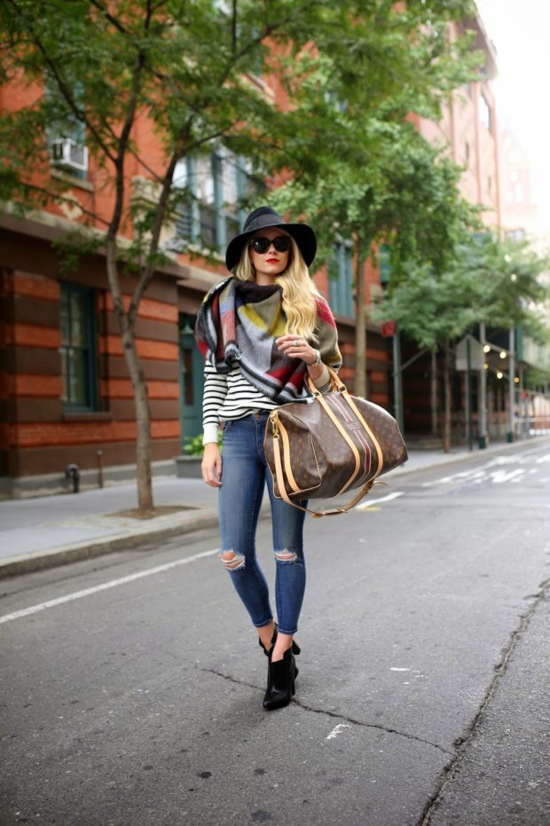 17 Great Jeans Outfit Ideas for Fall