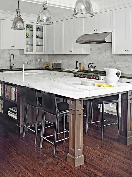 16 Great Design Ideas for Kitchen Islands with Breakfast Bar