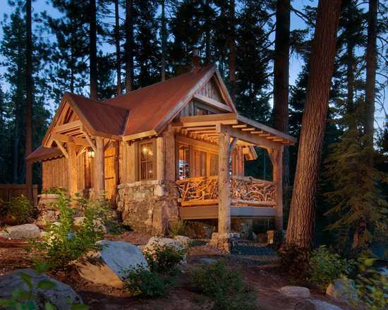 17 Lovely Small Mountain Cabin Designs Ideas