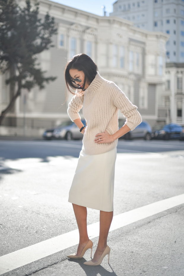 Fall Fashion Trend: 17 Stylish Sweater and Skirt Outfit Combos to Copy This Season