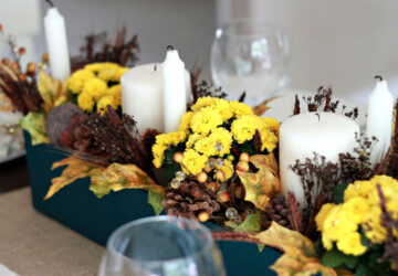 17 Beautiful DIY Thanksgiving Centerpiece Ideas - Thanksgiving Centerpiece Ideas, thanksgiving centerpiece, diy thanksgiving decorations, DIY Thanksgiving Centerpiece Ideas, DIY Thanksgiving Centerpiece, DIY Thanksgiving