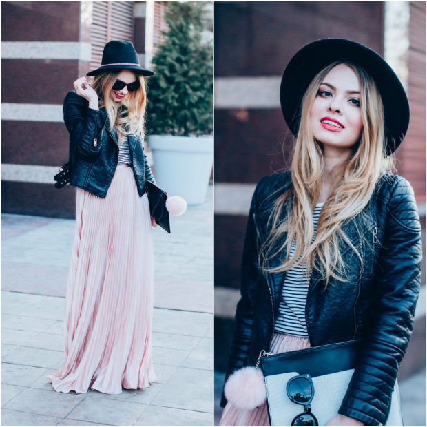 18 Chic Fall Outfit Ideas with A Black Hat