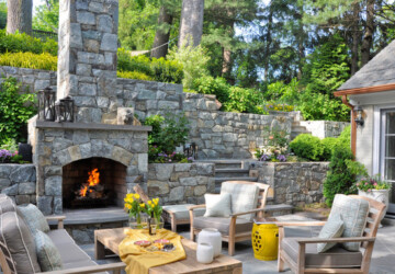 18 Patio Fireplace Design Ideas for Your Outdoor Space - Patio Fireplace Design Ideas, Patio Fireplace, patio design ideas, Outdoor Fireplaces, Fireplace Design Ideas, fireplace