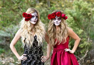 15 Creative DIY Halloween Makeup Ideas - Halloween Makeup Ideas, halloween costume, diy Halloween