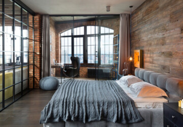 18 Urban Loft-Style Bedroom Design Ideas - Urban Loft-Style Bedroom Design Ideas, Loft-Style Bedroom, Loft-Style, loft ideas, loft apartment, bedroom design ideas